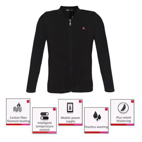 camisa colete roupas de aquecimento eletrico aquecido