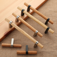 NICEDUNE Wood Furniture Handle Cabinet Handles furniture