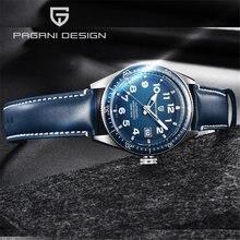 Часы наручные pagani Мужские механические роскошные брендовые