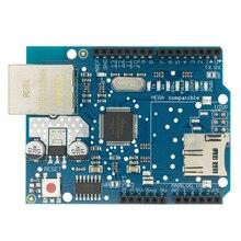 10 pièces bouclier Ethernet bouclier W5100 R3 UNO Mega 2560 1280 328 UNR R3 W5100 carte de développement pour arduino
