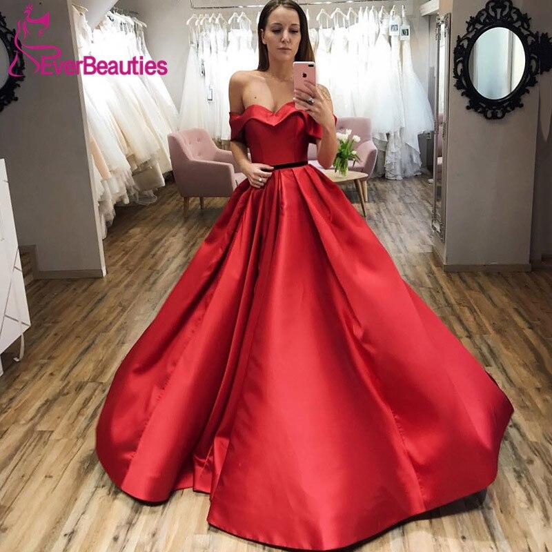 Robes De bal en Satin 2019 Robe De bal chérie robes De bal Robe De soirée