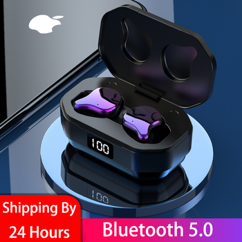 G01 wireless earbuds TWS mini true BT 5.0 stereo headsets bass in-ear headsets HiFi sound quality 6D surround sound