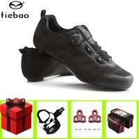 أحذية ركوب الدراجات للرجال من Tiebao أحذية رياضية للسباق والترياتلون أحذية رياضية قابلة للتنفس للدراجات|أحذية ركوب الدراجات|   -
