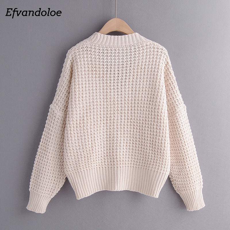 Efvandoloe Autumn Cardigan Sweater Women Winter Clothes Kardigan knitted fall 2019 Sweaters 3