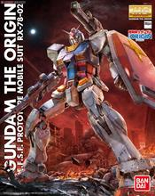 цена на Japaness Bandai GTO MG 1/144 Gundam Model RX-78-2 Ready Pleayer One  MOBILE SUIT Super Robot Unchained Mobile Suit Kids Toys
