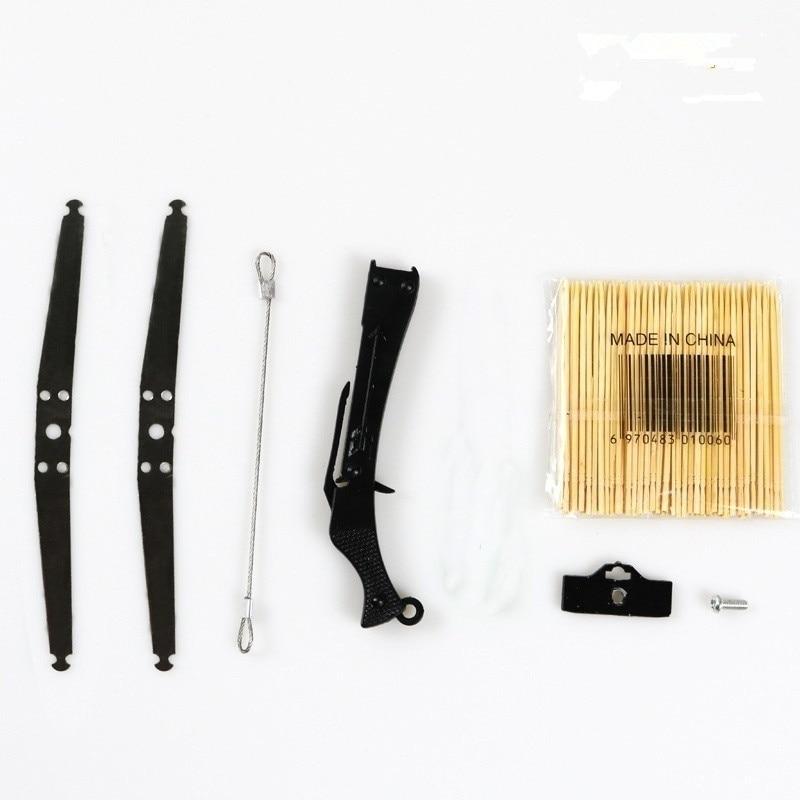 Elastis Mainan Satu Set Mobil Dekorasi untuk Mobil Depan atau Mendapatkan Model Collectible Model Mini Tembakan Panah Mainan termasuk Kunci Pas