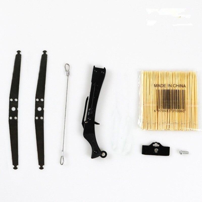 Giocattolo elastico vestito di Un Set di Auto Della Decorazione per Auto Anteriore Scrivania o Ottenga Il Modello Da Collezione Modello Mini Colpo di Freccia Giocattolo tra cui Chiave