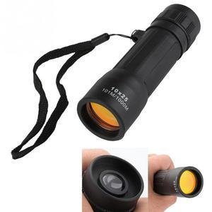 Монокуляр 10x25 HD 10X мини портативный телескоп, водонепроницаемый бинокль, оптическая охота, путешествия, кемпинг, рыбалка, туризм