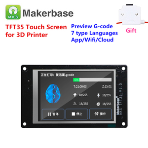 Image 1 - 3d printer display MKS TFT35 cloud connected touch screen 3.5 inches LCD panel 3.5 TFT monitor module full color displayer