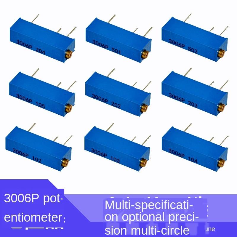 3006P 1K 2K 5K 10K 20K 50K 100K 200K 500K 1M 100R 200R 500R Trimmer del Potenziometro x 10PCS