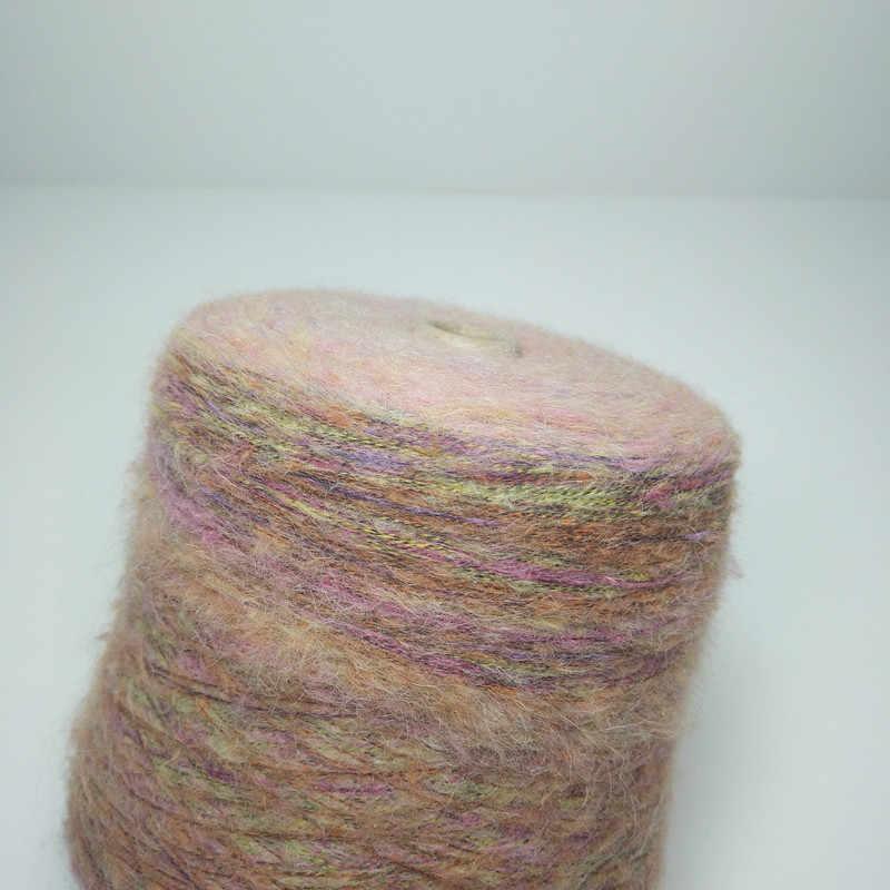 70% Angora wolle Häkeln pelote de laine mohair linie Häkeln gewinde zu stricken stricken lanas ovillos Stricken garn häkeln zl50