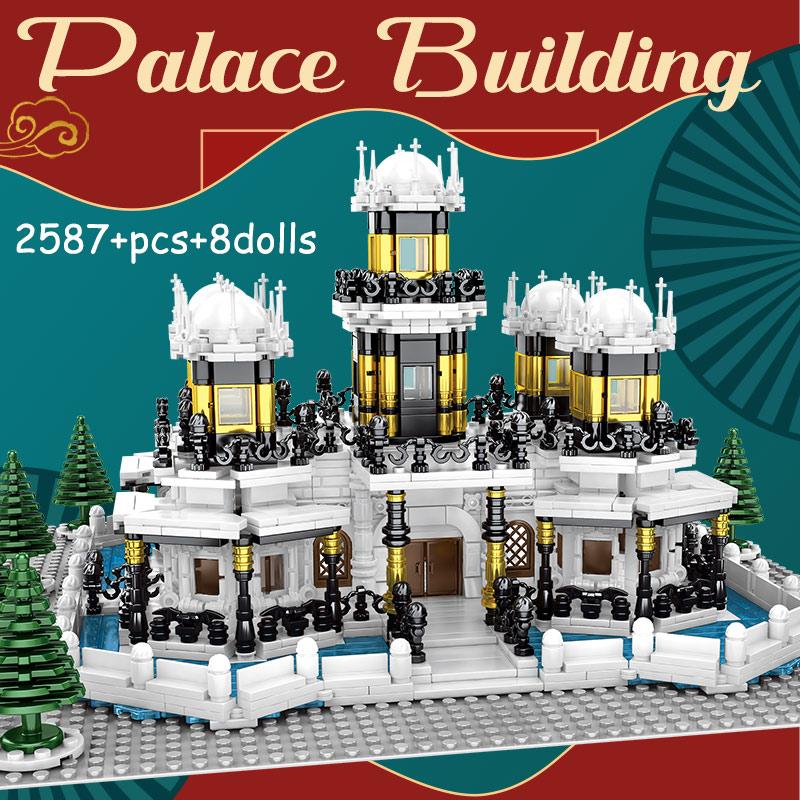 SEMBO Block Famous Construct Palace