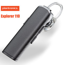 Plantronics Explorer 110 Bluetooth Draadloze Oortelefoon Voice Dialing Ontmoette Headset Holder In-Auto Opladen Mic For A Ios Android