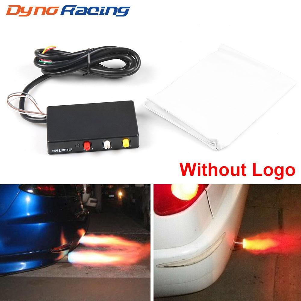 Racing power builder tipo b chama kits de ignição escape rev limitador lançamento controle sem logotipo bx101446