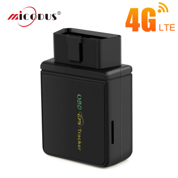 OBD Car Tracker 4G LTE GPS Tracking Tracker CCTR 830 OBD 2 Plug Connector Charging Track Voice Monitor Security Free Install image