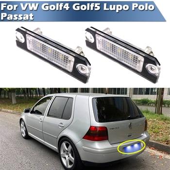 Светодиодный сигнальный фонарь номерного знака для VW GOLF 4 Golf 5 Lupo Polo 9N Passat 3c B6 Limousine