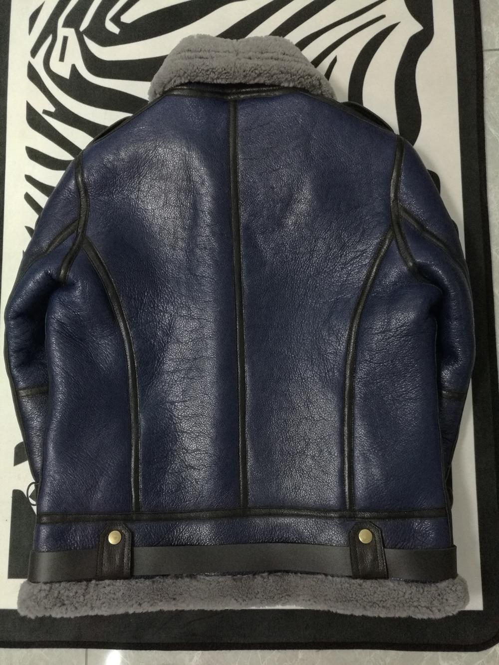 Hf75c0917baf14a2985500ea45151ef85q 2019 Fashion 100% Quality Real Sheepskin Fur Men Coat Genuine Full Pelt Sheep Shearling Male Winter Jacket Brown Men Fur Outwear