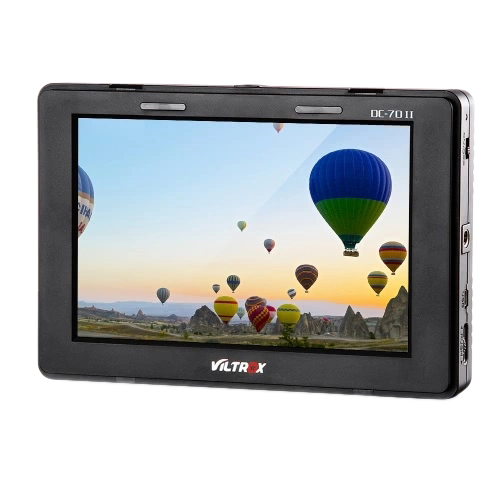 Viltrox DC-70II 1024 X 600 7 Inch Clip-On Color TFT LCD HD Monitor HD AV Input For DSLR Camera Camcorder