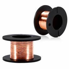 5 шт 01 мм медный провод с пайки оловом эмалированная проволока