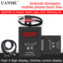WYLIE Android Boot Up Cable Line for Huawei Xiaomi LG OnePlus Samsung on/off DC Power Supply Current Testing