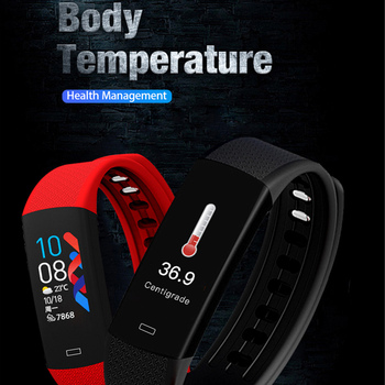 Smart Waterproof  Band Watch Blood Pressure For Sport