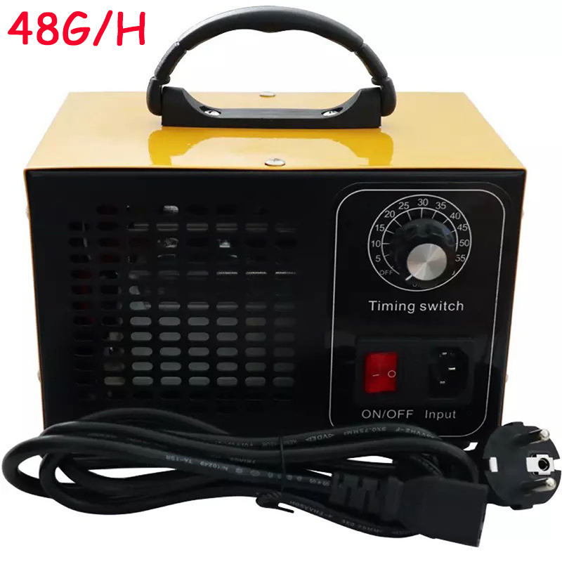 48g/28g Air Purifier Ozone Generator 220v Cleaner Disinfection O3 Ozono Air Ozonizer Sterilization Ozonator Oxygen Concentrator