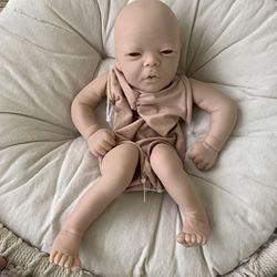 Набор Кукол Реборн, виниловая кукла «сделай сам», мягкая на ощупь, Товары для новорожденных, 19 дюймов