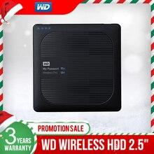 Western Digital WD 2TB 3TB 4TB שלי דרכון אלחוטי Pro נייד חיצוני כונן קשיח WiFi USB 3.0 סוללה (עד 10 שעות)