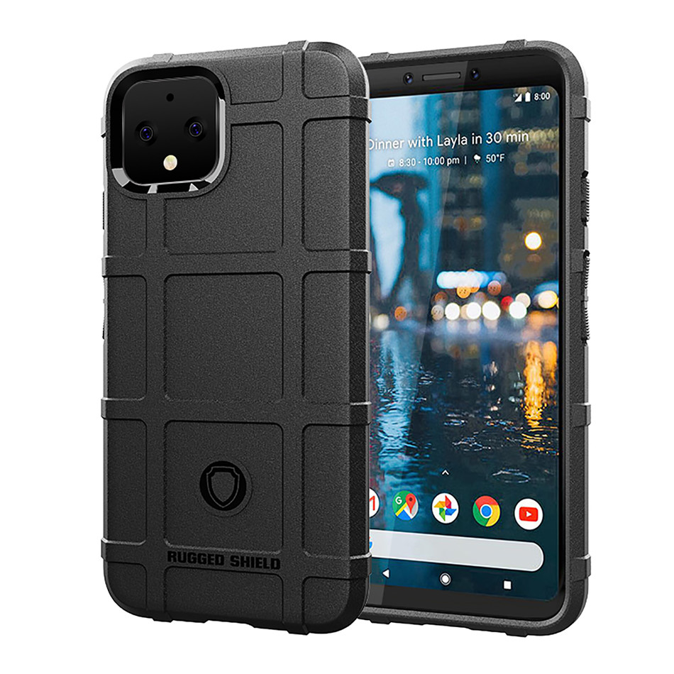 Silicone Case For Google Pixel 4 XL Pixel 3 3A XL Shockproof Armor Phone Cover For Google Pixel 4A Case