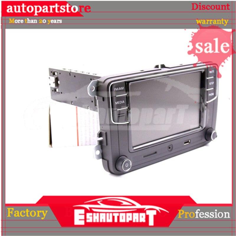 Android Auto Carplay miroir lien RCD330 R340G Plus Noname Radio rouge rétro lumière 187B pour PQ35 plate-forme siège Leon Toledo Altea - 2