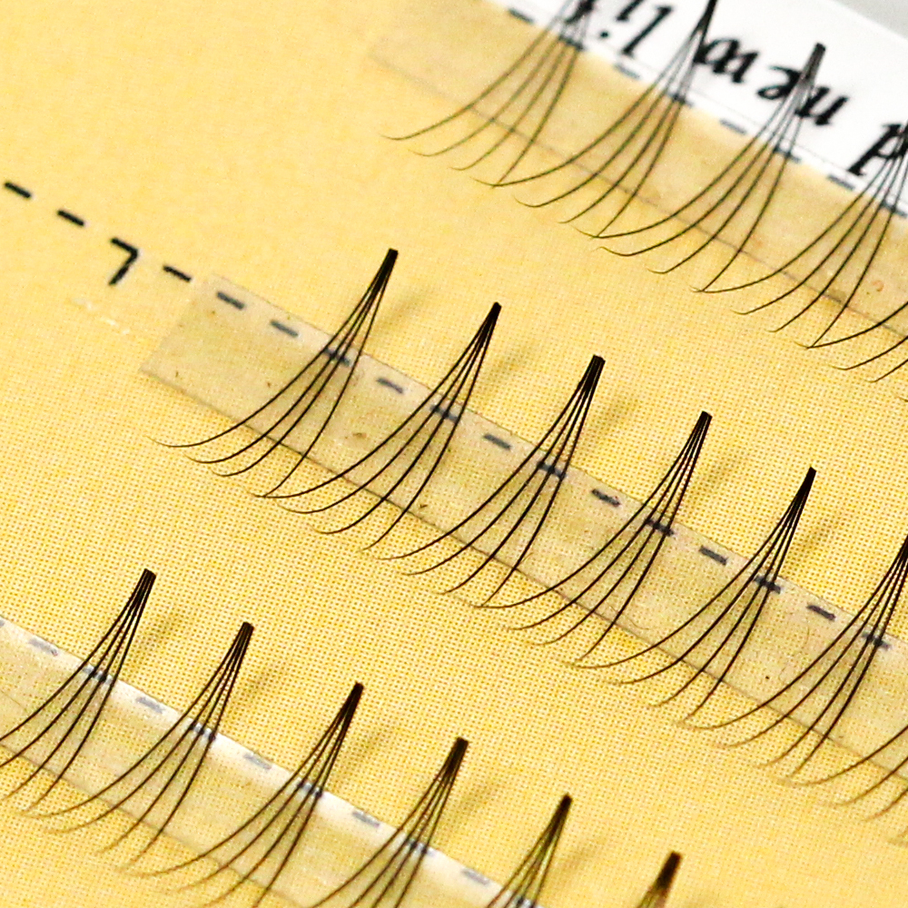 Grafting World Brand 4D Individual Eyelash Soft Black Russia Cilia Volume Eyelash Extensions For Professional And Personal Use