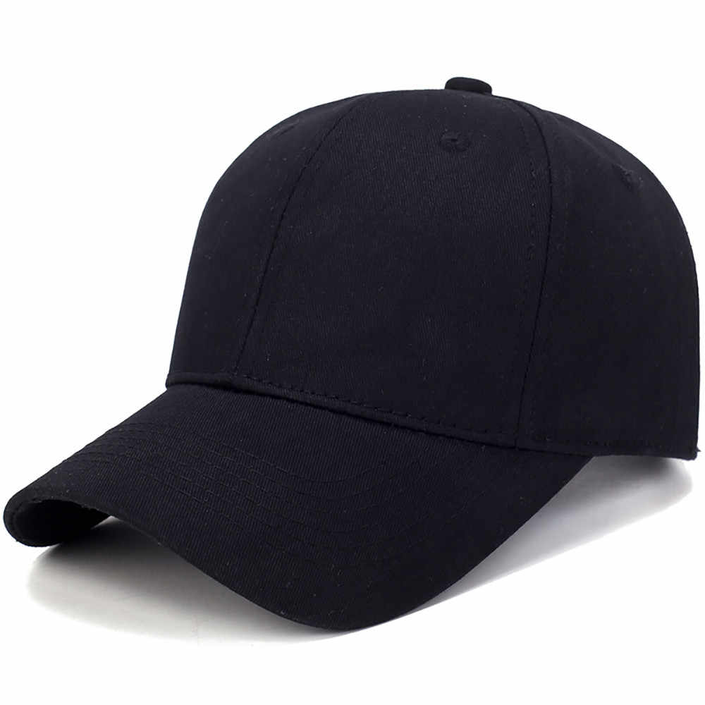 New design of baseball caps Hat Cotton Solid Color Baseball Cap Men Cap Outdoor Sun Hat  hats for running hip-hop party
