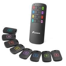 Anti-lost Wireless Key Finder Locator Remote Control Tracker Alarm Keychain Locator Wallet Tracker Transmitter 8 Receivers