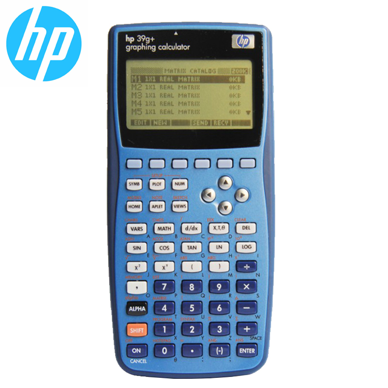 HP39G graphing calculator function calculator SAT exam AP exam calculator elementary middle school high school general