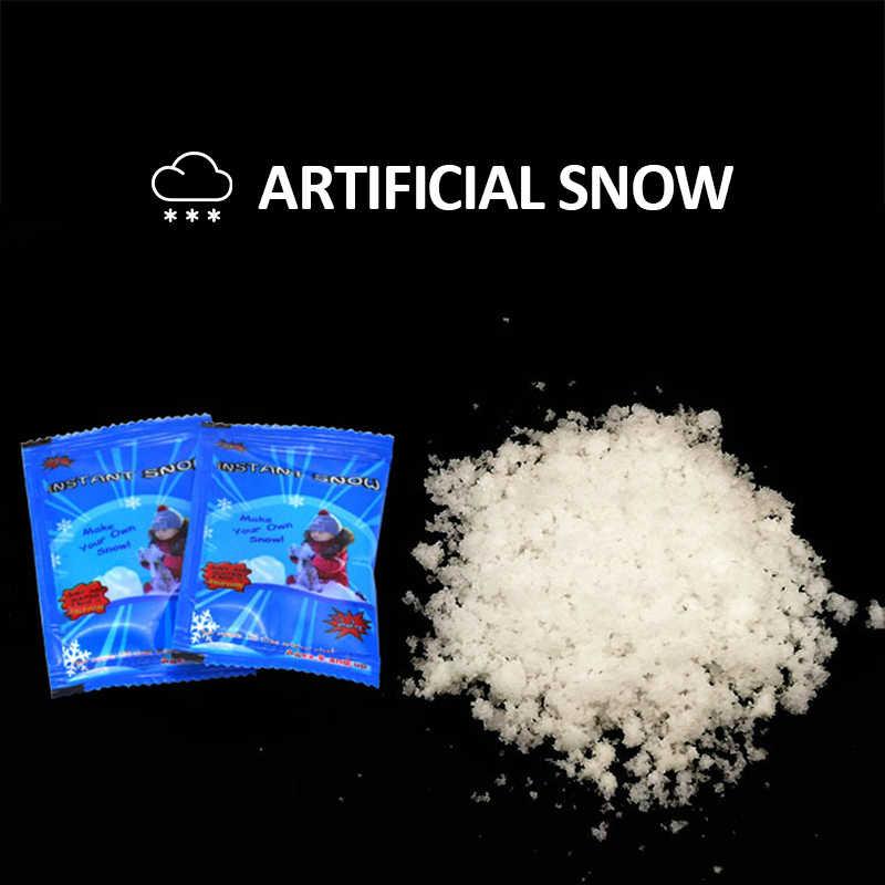 1 pacchetto In Polvere di Neve Artificiale Neve Istante Soffici Fiocco di Neve Super-Assorbente Congelato Partito Magia Prop Festa Di Natale di Cerimonia Nuziale