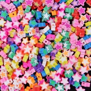 19 Стиль 50/100 шт разноцветные бусины из глины 10 мм с принтом «фрукты»/животных/Любовь Форма Бусы из полимерной глины для изготовления украшений вручную Бусины      АлиЭкспресс