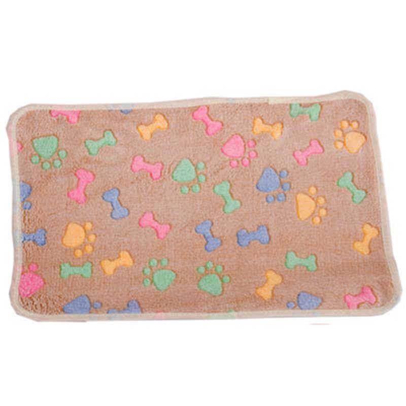 マルチスタイルペット用品毛布犬小屋マット犬のブランケット秋と冬暖かい毛布サンゴのベルベット