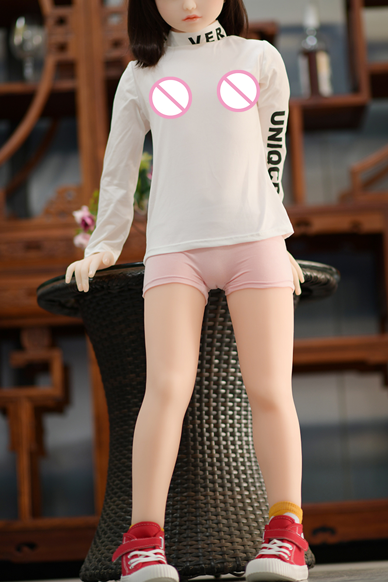 Sex Dolls Young Real Love Doll Sexdoll With 122cm Height 9# Flat Chest Include Taxes To EU US CA RU Silicone Sex Doll For Men
