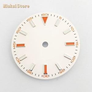 Image 2 - Bliger sterile 29mm luminous watch dial fit ETA 2824/2836,Mingzhu DG 2813/3804,Miyota 8205/8215/821A/82 series movement
