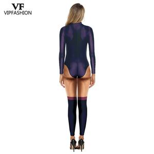 Image 5 - VIP 패션 3D 영화 Maleficent 의상 카니발 악마의 마녀의 코스프레 복장 파티 멋진 Jumpsuits 여성을위한 할로윈 의상