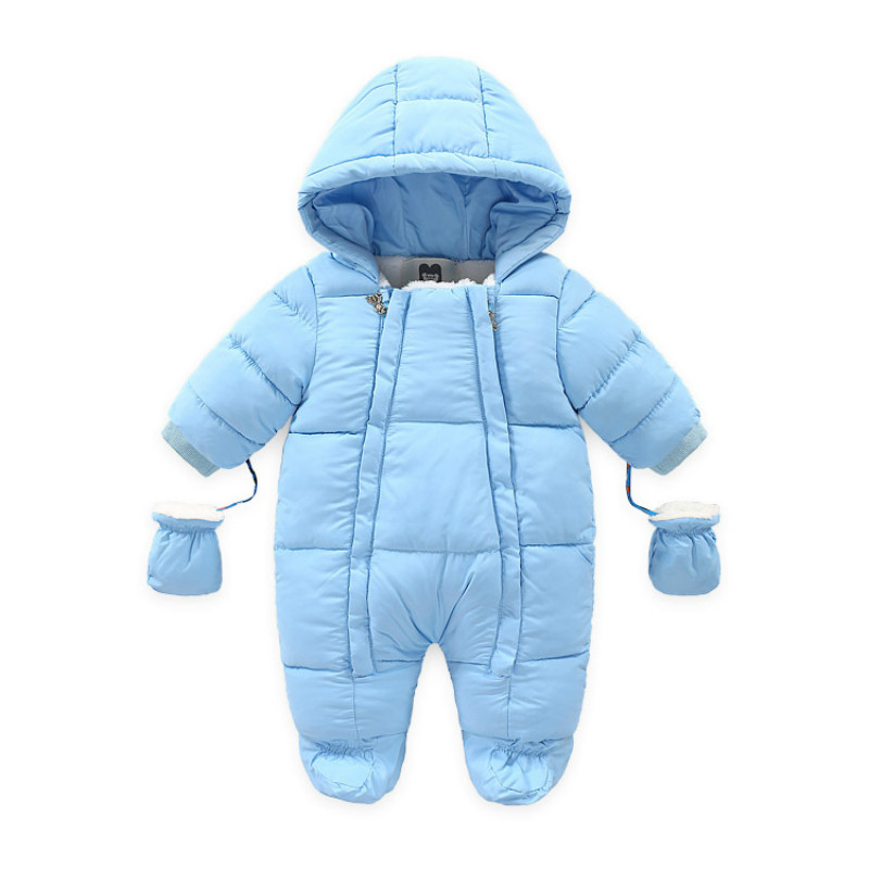 Newborn Toddler Cotton Rompers -30 Degree Baby Jumpsuit Clothing Boy Girls Clothes Cute Infant Newborn Winter Clothing