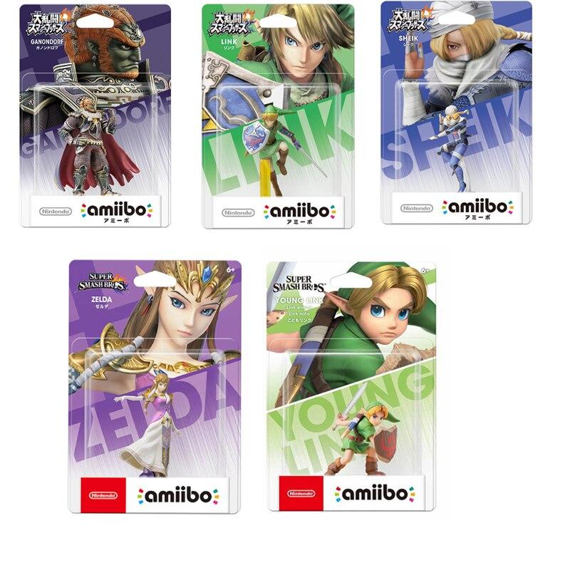 Фигурка Nintendo Amiibo Super удар Брос. Серия Zelda Young Link ганондорф шик