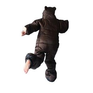 Image 2 - Winter Bear Sleeping Bag Ultralight Cotton Camping Outdoor Polar Adults Cold Weather Lightweight Mummy Sleeping Bag Pads Hiking