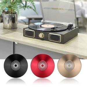 Image 5 - Виниловая пластина из цинкового сплава, аудио диск, поворотный стол, стабилизатор, зажим, алюминиевый вес