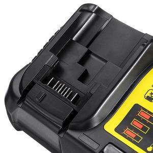 Image 5 - DCB112 wymienna ładowarka litowo jonowa do ładowarki Dewalt 12 V 14.4V 18V ogniwa baterii litowej
