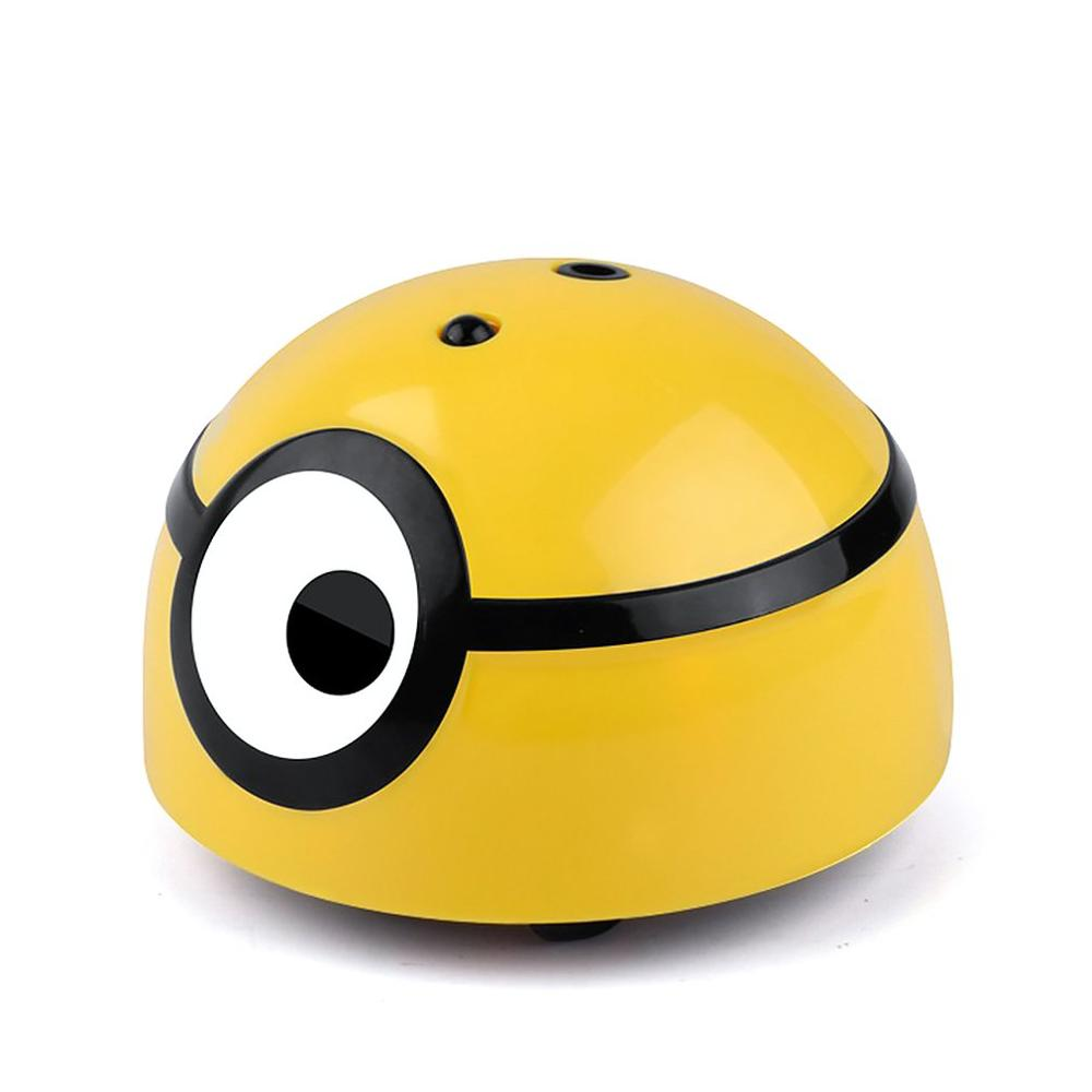 Children's Electric Induction Toy 3D Cute Remote Control Single Vision Toy Small Yellow Man Toys Induction Toys