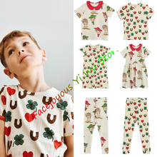 Children Clothing 2020 Summer Baby Clothes T-shirt+Pants Outfit Kids Clothes Girls Tracksuit Sport Suit For Boys Clothing Sets цена 2017