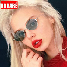 RBRARE 2019 Small Frame Ocean Sunglasses Women Mirror Classic Vintage Street Bea