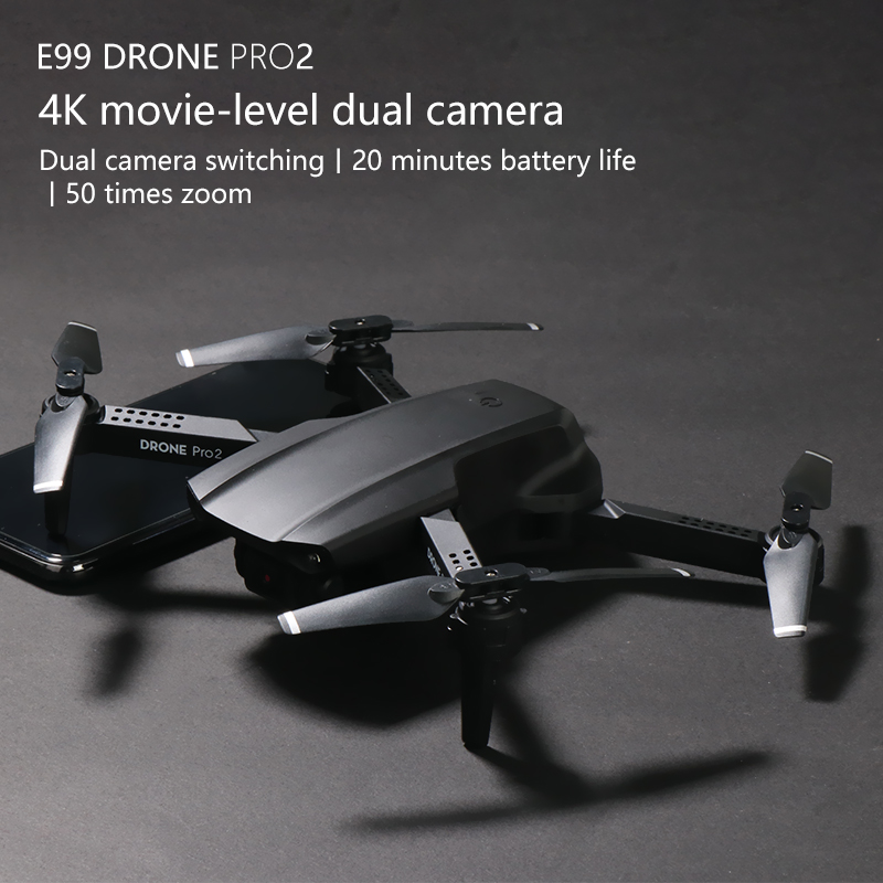 E99 RC Drone  Precision Fixed Point 4K HD Camera Professional Aerial Photography Helicopter Foldable Quadcopter 1