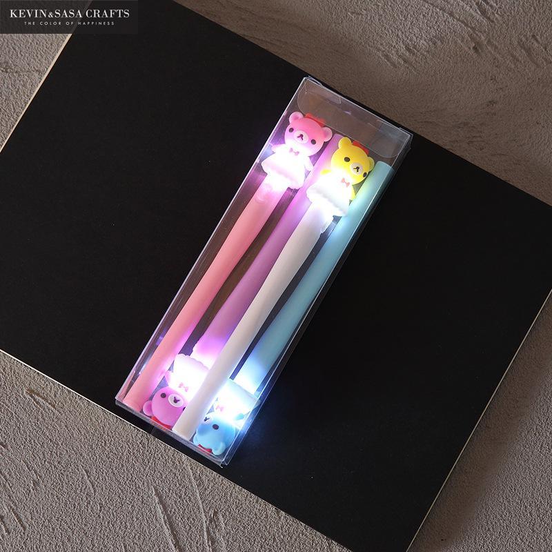 4Pcs/Set Gel Pen Unicorn Pen Stationery Kawaii School Supplies Gel Ink Pen School Stationery Office Suppliers Pen Kids Gifts 5